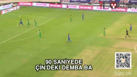 Demba Ba'nın Çin'deki tüm golleri