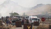 Mardin Cevzilik Jandarma Karakolu'na bombalı araçla saldırı