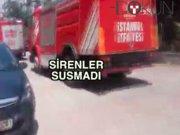 İstanbul'da üç noktada yangın paniği