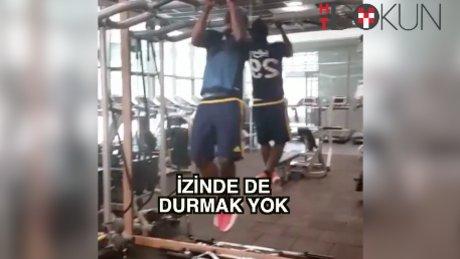 Fenerbahçe'de izinde de durmak yok