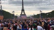 Portekizli taraftarlar Avrupa Şampiyonluğu'nu kutladı