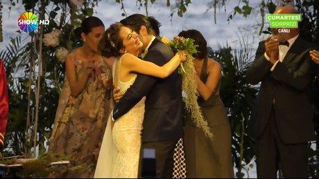 Kadir Doğulu ve Neslihan Atagül düğün töreni