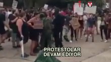 Amerika'da protestolar durmuyor
