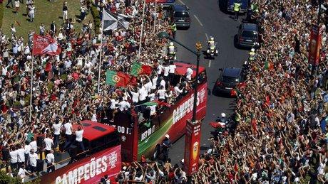 Ronaldo'nun kamerasından şampiyonluk coşkusu