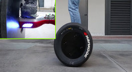 Hoverboard'a formula lastiği