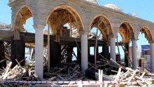 Cami inşaatında göçük: 1 ölü, 4 yaralı