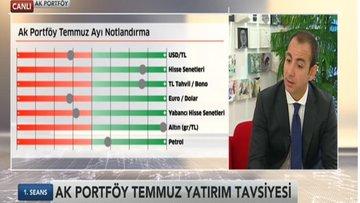 Ak Portföy'ün Temmuz ayı önerileri