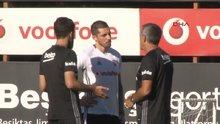 Beşiktaşlı Jose Sosa, antrenmana çıktı