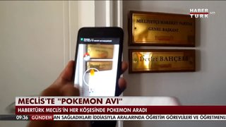 "MECLİS'TE ""POKEMON AVI"""