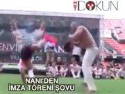 Nani'den imza Capoeira'sı