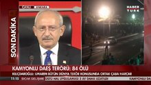 Kılıçdaroğlu Frsansa'daki terörü kınadı