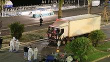 Fransa Nice'teki terör saldırısı kamerada!