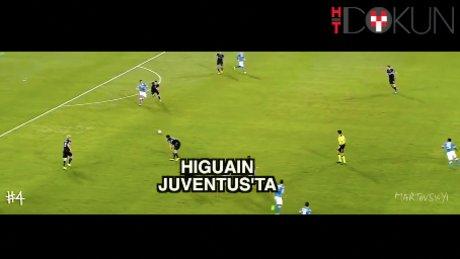 Gonzalo Higuain Juventus'ta