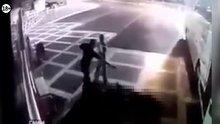 Şanlıurfa'da 3 polisin şehit edilmesi güvenlik kameralarına yansıdı