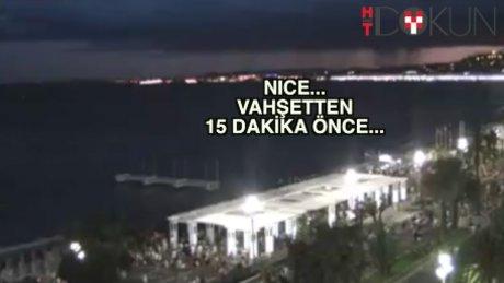 Nice'te ölüm dolu 15 dakika