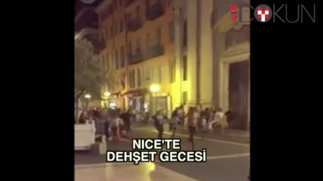 Nice'te terör saldırısı: 84 ölü