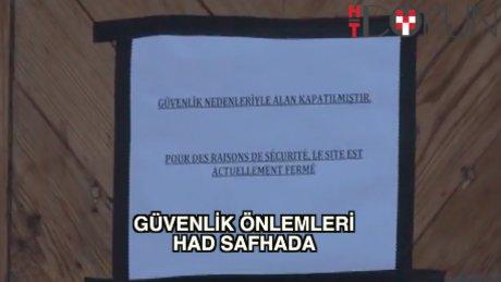 Taksim'de 'kırmızı alarm'