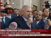 """Başbakan'dan """"İdam isteriz"""" sloganlarına yanıt"""