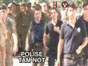Darbeye karşı polise 'tam not'