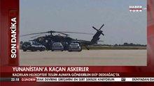 Kaçırılan helikopteri teslim almaya giden ekip Dedeağaç'ta