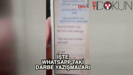 İşte darbecilerin Whatsapp yazışmaları!