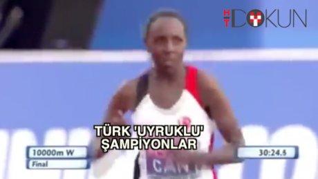 İşte 'yeni Türk uyruklu' atletlerimiz