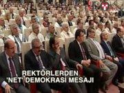 YÖK Başkanı Saraç: 'Egemenlik kayıtsız şartsız milletindir'