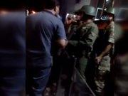Bayrampaşa'da Çevik Kuvvete baskın girişimi kamerada