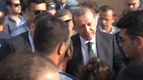 Vatandaşlardan Erdoğan'a sevgi gösterisi