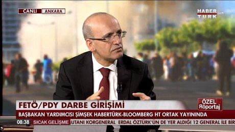 Mehmet Şimşek, darbe girişimi sonrasında Türkiye ekonomisini değerlendirdi