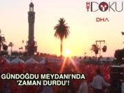 İzmir Saat Kulesi 43 yıl sonra durdu