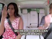 Michelle Obama'nın karaoke tercihi Beyonce