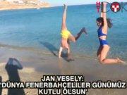 Jan Vesely'den Dünya Fenerbahçeliler günü kutlaması
