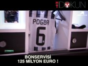 Paul Pogba'nın bonservisi 125 milyon euro