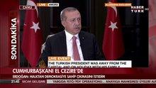 Cumhurbaşkanı El-Cezire'de konuştu!