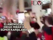 Diego Ribas'a Flamengo usulü karşılama