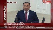 Adalet Bakanı Meclis'teki OHAL görüşmelerinde konuştu