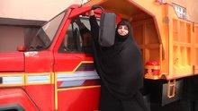 Taksim'e kamyonla çıkan kadınlar konuştu