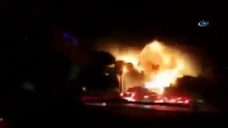 Ankara Emniyetine yapılan  bombalı saldırının yeni görüntüleri