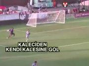 Kaleci Ndjock: Kendi kalesine gol atan kaleci
