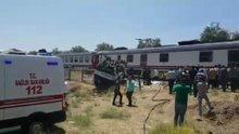Manisa'da hemzemin geçitte kaza