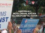 ABD'de islamofobiye tepki