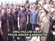 Başkentte Asker ve polisin birlik günü