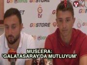 Muslera: 'Galatasaray'da mutluyum'