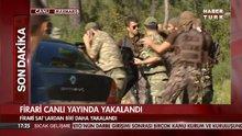 Firari darbeci suikastçi asker canlı yayında yakalandı