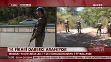 Marmaris'te aranan askerlerden 3'ü yakalandı