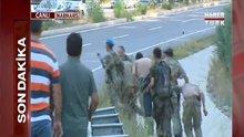 Firari darbeci suikastçi askerler canlı yayında yakalandı