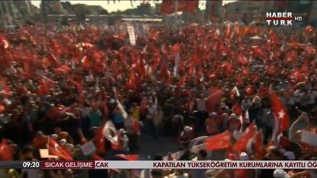 Taksim Meydanı'nda CHP'nin dev 'Barış ve Demokrasi Mitingi'