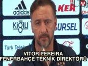 Vitor Pereira: 'Umarım kazanırız'