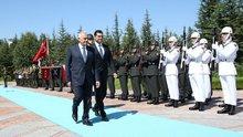Başbakan Yıldırım, KKTC Başbakanı'nı ağırladı